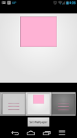 Screenshot of Smartees Pink Icon Pack