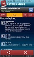 Screenshot of Konuşan Sözlük