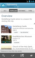 Screenshot of Heidelberg Guide by Triposo