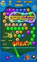 Screenshot of Bubble Legends