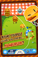 Screenshot of Burgerang - The Food Wars