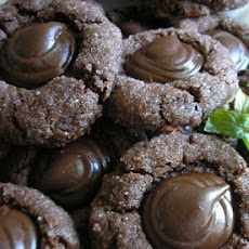 Bailey's Irish Cream Kiss Chocolate Cookies