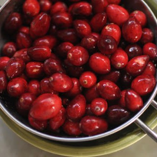 Pear Cranberry Compote
