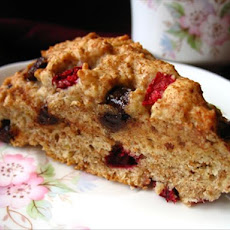 Cranberry Chocolate Scones
