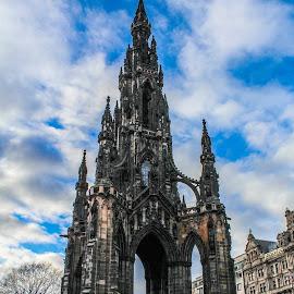 Scott Monument by Paul Connor - Buildings & Architecture Statues & Monuments ( scotland, edinburgh, hdr, monument, historical )
