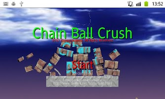 Screenshot of The Chain ball