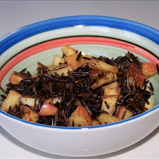 Apple Wild Rice Breakfast