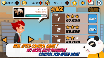 Screenshot of I am Hero for Tango-run game