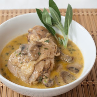 Thomas Jefferson's Chicken Fricassee
