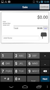 First Data MobilePay Canada - screenshot