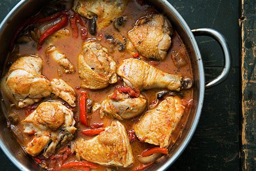 Chicken Cacciatore (Hunter Style Chicken) Recipe | Yummly