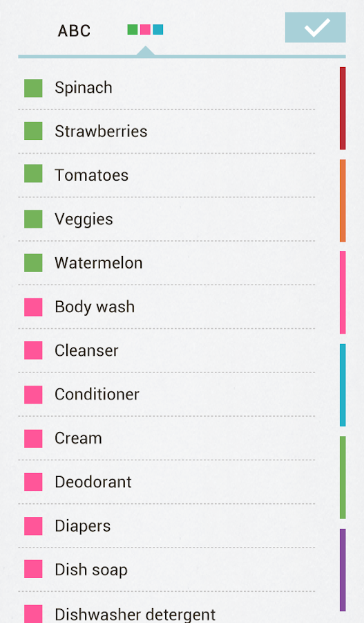 Buy Me a Pie! Grocery List Pro Screenshot 14