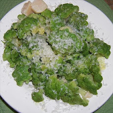 Lemon Dijon Sauced Broccoflower or Broccoli