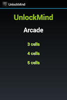 Screenshot of Unlock Mind