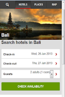 Screenshot of World Hotels