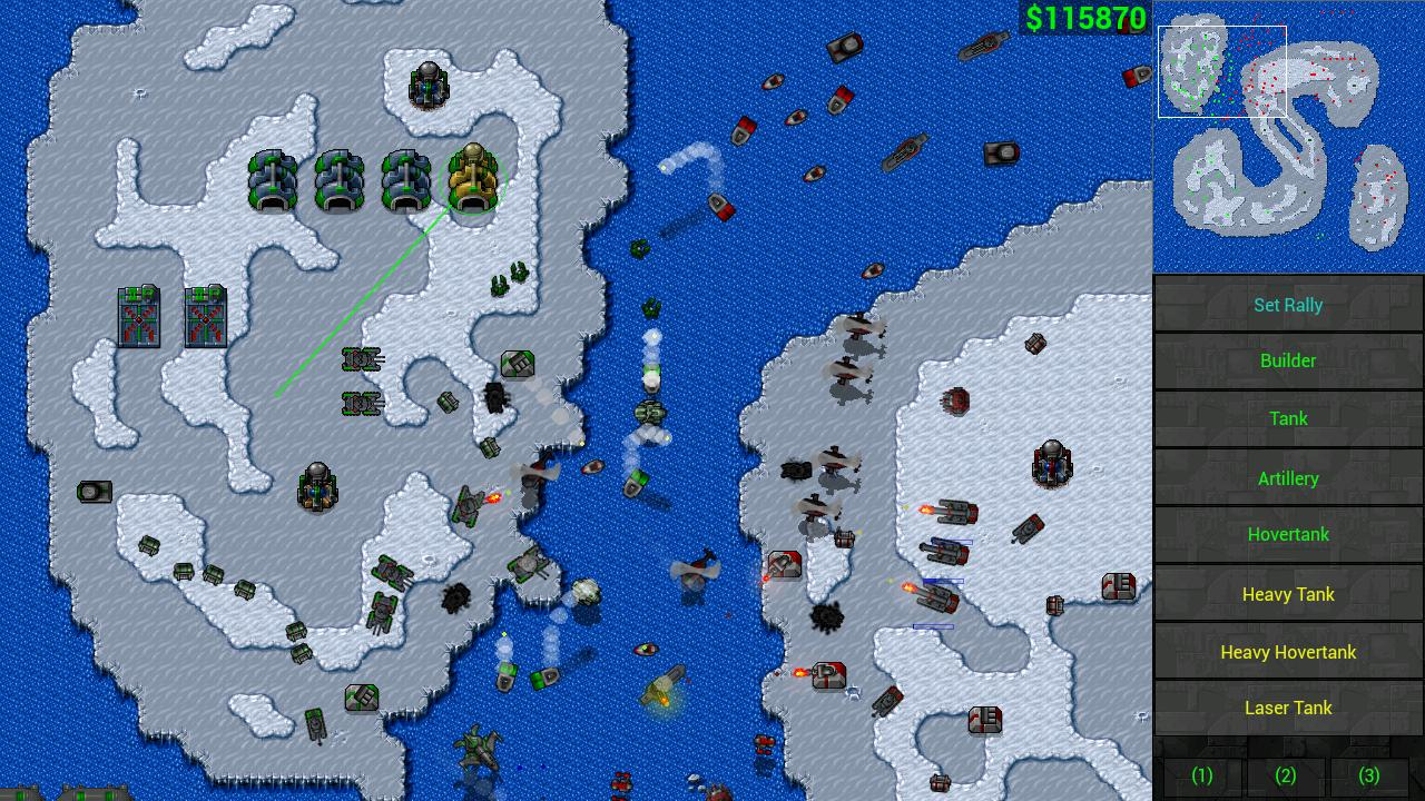 Rusted Warfare - RTS Strategy Screenshot 1