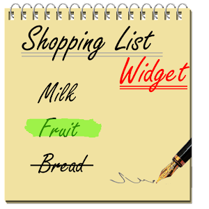 Shopping List Widget For PC