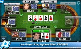 Screenshot of Poker LIVE!