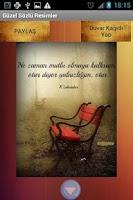 Screenshot of Güzel Sözlü Resimler