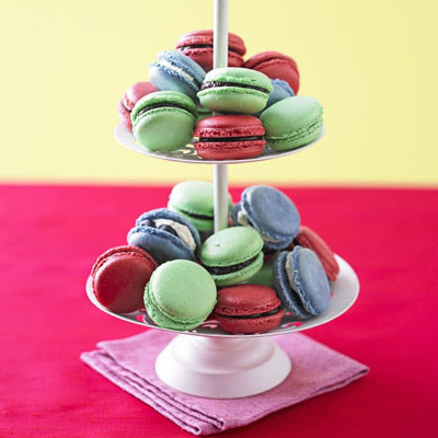 Chocolate & Raspberry Macaroons