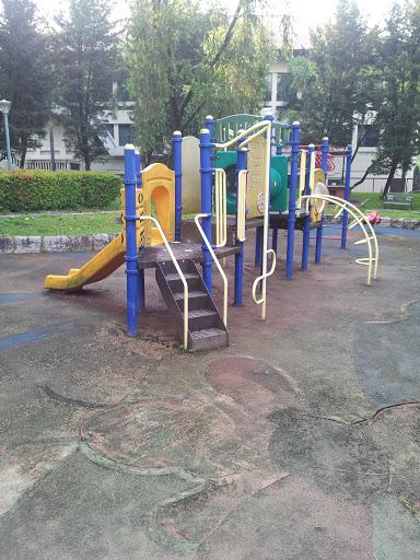 Rubbered Mud Playground