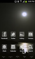 Screenshot of Moonriver Theme GO Launcher EX
