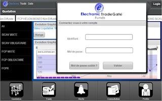 Screenshot of ETF Tunis ® | Mobile Tablette