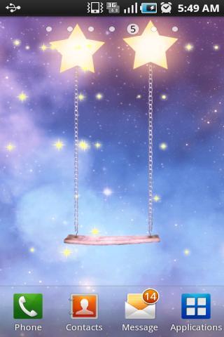 星光闪烁梦幻动态壁纸VII