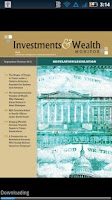 Screenshot of Investments & Wealth Monitor