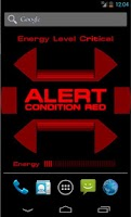 Screenshot of ST: Red Alert Wallpaper