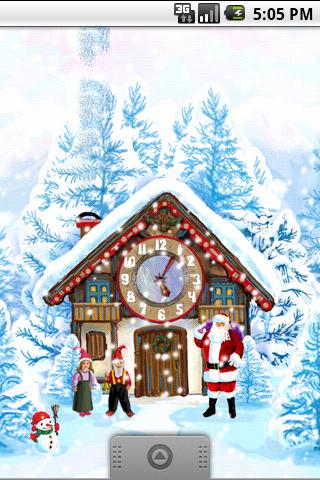 Christmas House Live Wallpaper