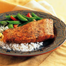 Salmon with Brazilian Rub