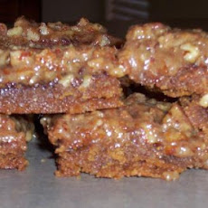 Pecan and Chocolate Squares