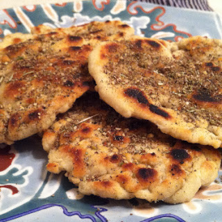 Navajo Flatbreads With Sumac & Herbs