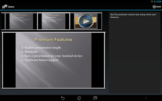 Screenshot of Remote Presenter