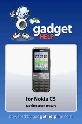 【免費書籍App】Nokia C5 - Gadget Help-APP點子