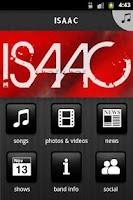 Screenshot of ISAAC