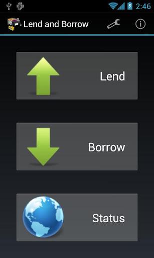 Lend and Borrow Free