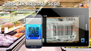 Screenshot of Insta QR Barcode Scan