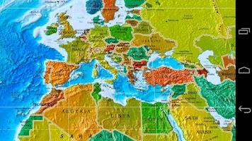 Screenshot of World Map