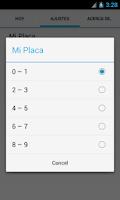 Screenshot of Pico y Placa Pasto