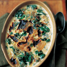 Baked Spinach Mornay Recipe