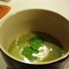 Avocado and Cilantro Soup