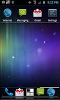 Screenshot of Recent Apps Widget
