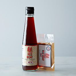 Red Boat Fish Sauce 40°N and Red Boat Fish Salt