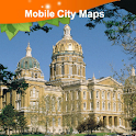 Des Moines Street Map icon