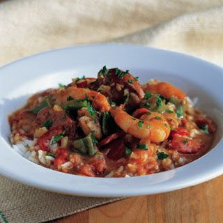 Spicy Seafood and Sausage Gumbo