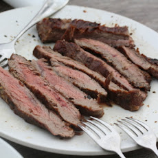 Guinness-Marinated Flank Steak