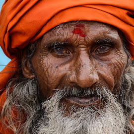 Tantrik Baba. by Rakesh Syal - People Portraits of Men (  )