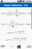 Screenshot of Trigonometry Formulas Free